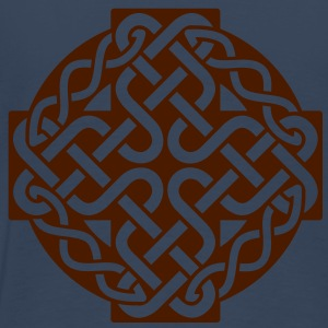 Simple Knotted Cross Tops - Men's Premium T-Shirt
