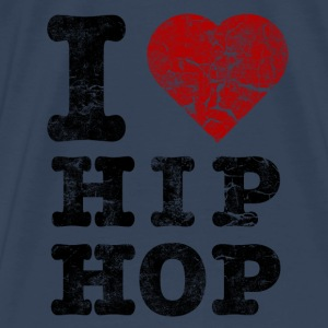 i_love_hiphop02_vintage Tops - Men's Premium T-Shirt