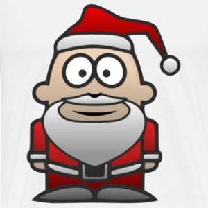 Father Christmas Santa St Nick - Men's Premium T-Shirt