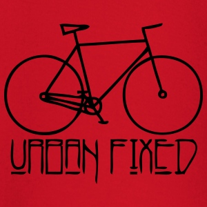 SInglespeed URBAN FIXED orange - Baby Langarmshirt