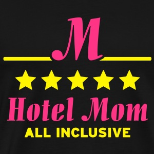 Hotel Mom all inklusive Topper - Premium T-skjorte for menn