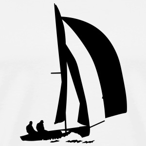 segelboot T-Shirts - Men's Premium T-Shirt