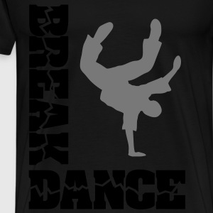 Breakdance danser  Tops - Mannen Premium T-shirt