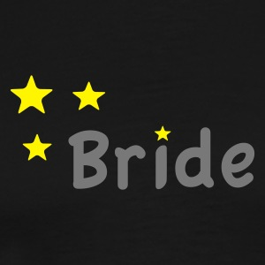 Star Bride Topper - Premium T-skjorte for menn