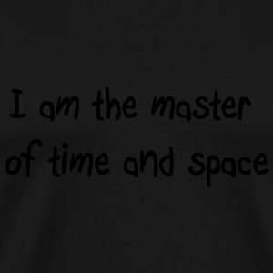 Master of time and space Tops - Mannen Premium T-shirt