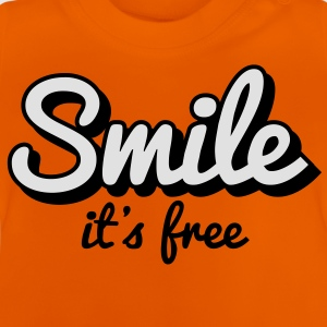 Smile it's free - T-shirt Bébé