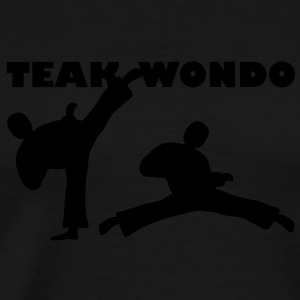 Taekwondo / Tournament - Premium T-skjorte for menn
