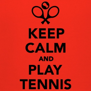 Keep calm and play Tennis T-Shirts - Kinder Premium Hoodie