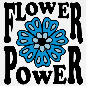Flower power flowers Mandala hippie goa T-Shirts - Baseball Cap