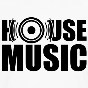 Musique house music basse Tee shirts - T-shirt manches longues Premium Homme
