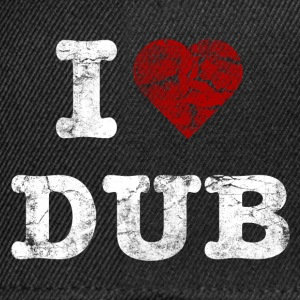 I Love DUB vintage light Topper - Snapback-caps
