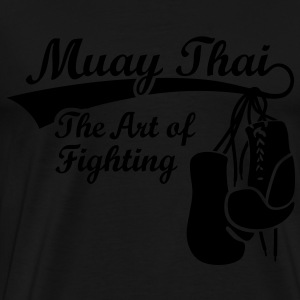 Muay Thai - The Art of Fighting Thaiboxen Tops - Männer Premium T-Shirt