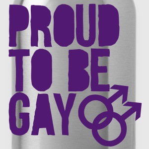 Proud to be gay Tops - Water Bottle