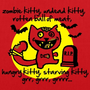 Zombie Kitty Topper - Stoffveske