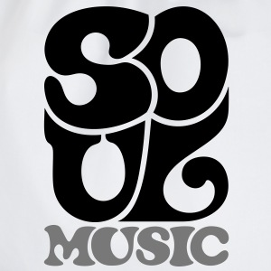 Soul Music - Funk Blues Gospel T-shirts - Gymnastikpåse
