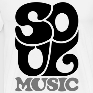 Soul Music - Funk Blues Gospel T-shirts - Mannen Premium T-shirt