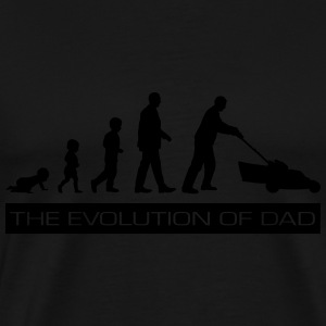The Evolution of Dad T-Shirts - Men's Premium T-Shirt