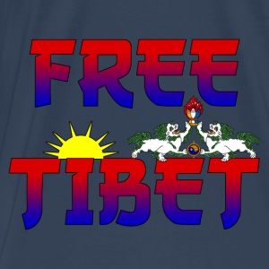 Tibet Free Tops - Men's Premium T-Shirt