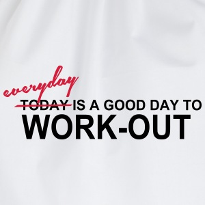 Everyday is a good day Tops - Turnbeutel