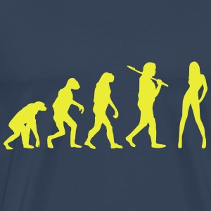 Evolution Babe - Männer Premium T-Shirt