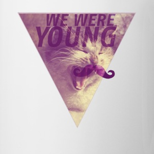 CAT+MOUSTACHE+WE WERE YOUNG+HIPSTER+TRIANGLE+EGYPT T-Shirts - Tasse