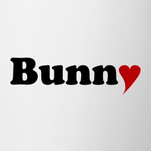 Bunny with Heart Tops - Mug