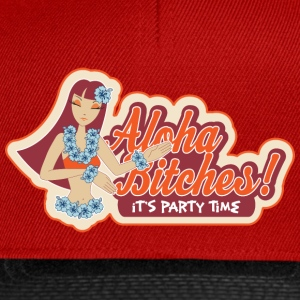 Orange Aloha Bitsches! Tee shirts - Casquette snapback