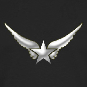 Hero Wings, Superhero, Comic, Style, Cartoon, Star Magliette - Maglietta Premium a manica lunga da uomo