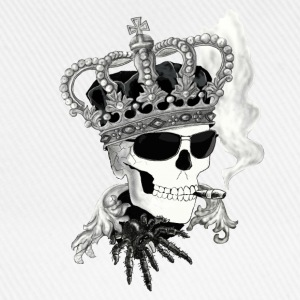 Skull with sunglasses Tops - Baseballcap