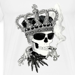 Skull with sunglasses Tops - Mannen Premium T-shirt