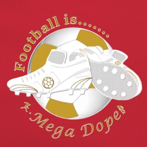 Football is mega dope soccer Shirts - Retro Bag