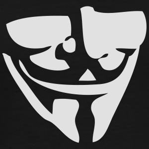 Guy Fawkes / Anonymous mask T-Shirts - Men's Premium T-Shirt
