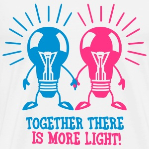 Together there is more light Débardeurs - T-shirt Premium Homme