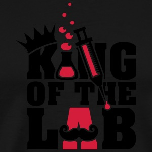 king of the lab (d, 2c) T-Shirts - Men's Premium T-Shirt