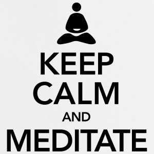 Keep Calm And Meditate Débardeurs - Tablier de cuisine
