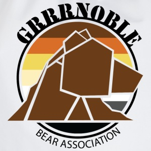 Logo 1 GRRRNOBLE BEAR ASSOCIATION Tee shirts - Sac de sport léger