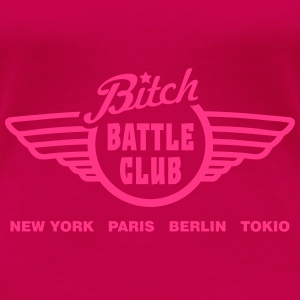 battle fight club v2 Tops - Women's Premium T-Shirt