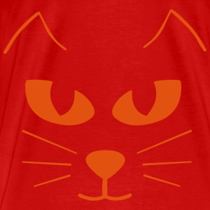 Cat Face Tops - Men's Premium T-Shirt