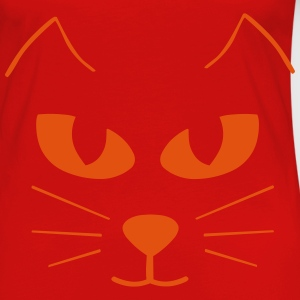 Cat Face Tops - Women's Premium Longsleeve Shirt