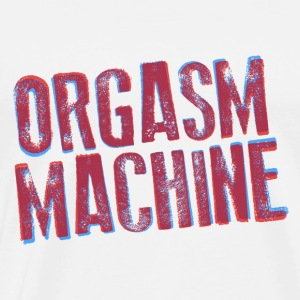 ORGASM MACHINE Tank Tops - Männer Premium T-Shirt