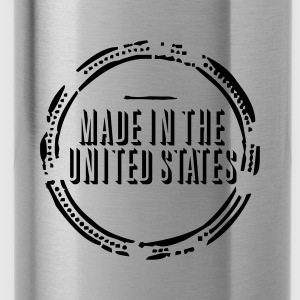 Made in the United States (stamp, 1c) Tops - Trinkflasche