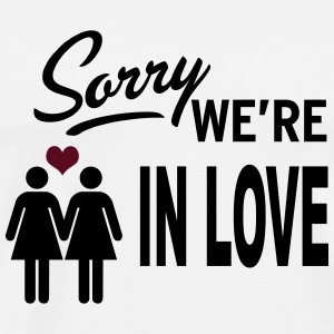 Sorry we are in love - girls Débardeurs - T-shirt Premium Homme