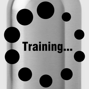 training loading  laden t shirt Tops - Trinkflasche