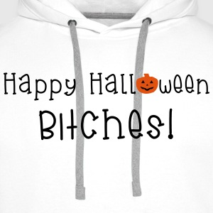 Happy Halloween Bitches Topy - Bluza męska Premium z kapturem