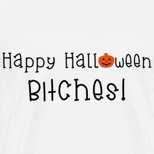 Happy Halloween Bitches Débardeurs - T-shirt Premium Homme