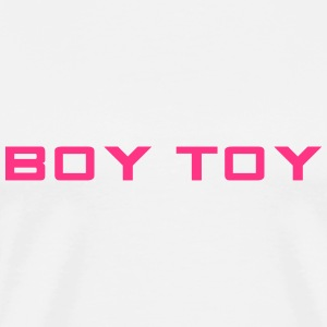 Boy Toy Topper - Premium T-skjorte for menn