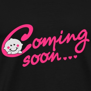 Coming soon Baby Tops - Mannen Premium T-shirt