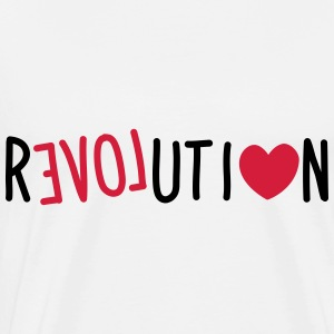 Love Revolution Tops - Männer Premium T-Shirt