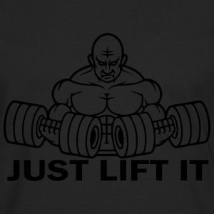 Just Lift It T-Shirts - Men's Premium Longsleeve Shirt