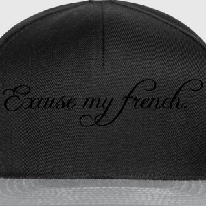 excuse my french Tops - Gorra Snapback